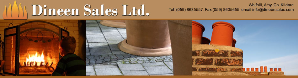 Flues, Fireplaces and Cooker parts from Dineen Refractories Ireland
